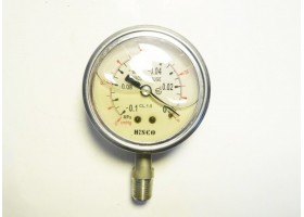 Vacuum Pressure Gauge, -0.1~0 MPa, Hisco (14 Days Warrenty on Entire Stock)
