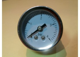 Pressure Gauge, 0-4 bar, Made in China (14 Days Warrenty on Entire Stock)