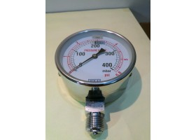 Pressure Gauge, 0-400 mbar wika, China (14 Days Warrenty on Entire Stock)