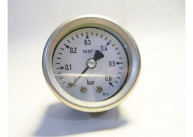 Pressure Gauge, EN837-1, 0~0.6 bar, China (14 Days Warrenty on Entire Stock)