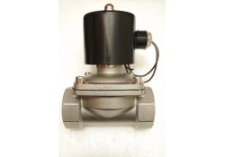 Solenoid Valve (Full Bore) SS, 1-1/2, 220 VAC  (14 Days Warrenty on Entire Stock)