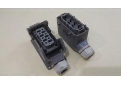 Power Connector, 10330100000, 6 pin, Harting (14 Days Warrenty on Entire Stock)
