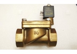Brass Solenoid Valve, 1-1/2, 430 04541, 24V DC, IP65 (14 Days Warrenty on Entire Stock)