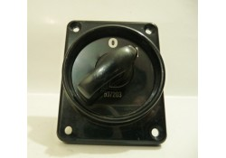 Black Rotary Switch, 537203,0/1, KI Electronics