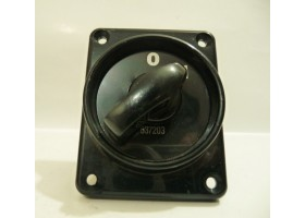 Black Rotary Switch, 537203,0/1, KI Electronics (14 Days Warrenty on Entire Stock)