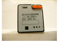 Power Relay, 60.12-I.8.220.0040, 8-Pin Octal, Finder
