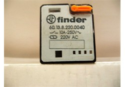 Power Relay, 60.13.8.220.0040, 11-Pin Octal, Finder