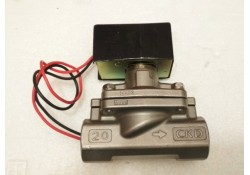 "Solenoid Valve, AD11-20A L3A, SS, 3/4"", DC24V , CKD, JAPAN   (14 Days Warrenty on Entire Stock)"