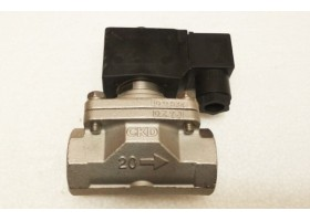 "Solenoid Valve, ADK11-20A 02E, 3/4"", CKD, Japan  (14 Days Warrenty on Entire Stock)"