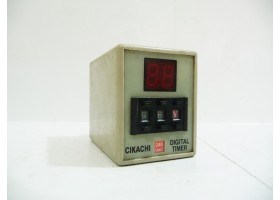 Digital Timer with 8 pin Base, AH3D, 240 VAC, CIKACHI, Made in Japan  (14 Days Warrenty on Entire Stock)