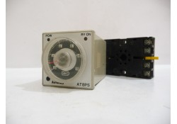 Solid State Timer with Base, AT8PS, Autonics, Made in Korea (14 Days Warrenty on Entire Stock)