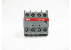 Auxiliary Contact, CA5X-22M, 1SBN019040R1122, ABB, India (14 Days Warrenty on Entire Stock)
