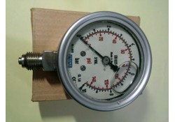 Bourdon Tube Pressure Gauge, 0-10 Bar, EN 837-1, Wika (14 Days Warrenty on Entire Stock)