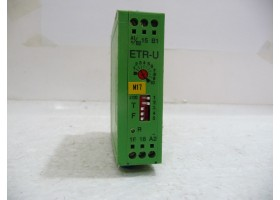 Multifunction Timer Relay, ETR-U-18-230 UC/21, Phoenix Contact  (14 Days Warrenty on Entire Stock)