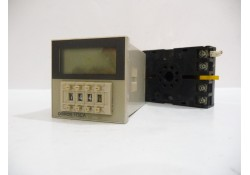 Solid State Digital Timer with Base, H3CA-8, 24 VDC, Omron (14 Days Warrenty on Entire Stock)