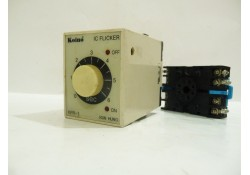 Koino IC Fliker with Base, KFR-1, 220 VAC, KUN HANG Electric, Korea