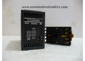 CT Converter with Base, MS3520, AC 0~5A, Mu  (14 Days Warrenty on Entire Stock)