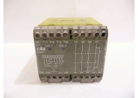 Safety Relay, PNOZ1 24VDC 3S10, Pilz, Germany  (14 Days Warrenty on Entire Stock)