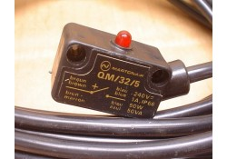 Magnetic Operated switch, 5 meter cabel, QM/32/5, N.M