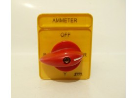 Ammeter Selector Switch, SA16-4-3 61325 B03, SARA, Italy (14 Days Warrenty on Entire Stock)