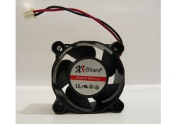 Axial Fan, XL-Share, Sleeve Bearing 2 wire, 12 VDC, XL-Share