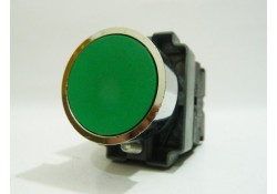 Green Push Button Switch, ZB2-BE101C, Telemecanique